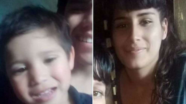 Murió el bebé que fue rociado y prendido fuego junto a su mamá