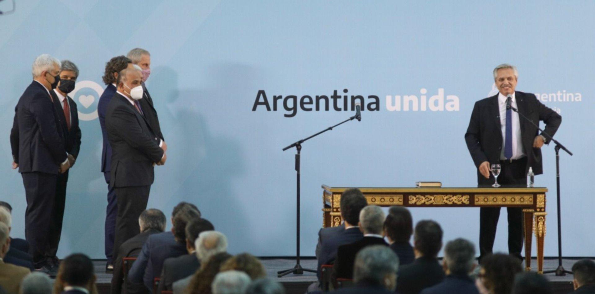 Alberto Fernández le tomó juramento a los nuevos miembros del Gabinete