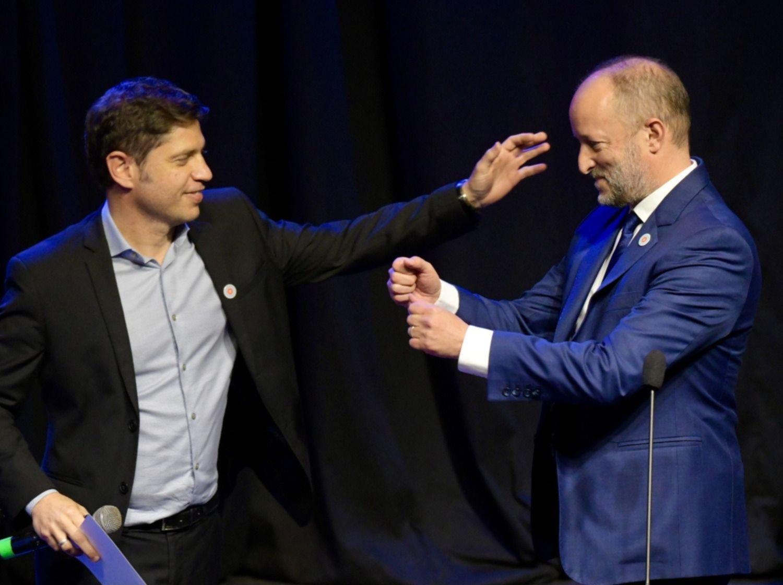 Axel Kicillof les tomó juramento a los nuevos ministros de su Gabinete