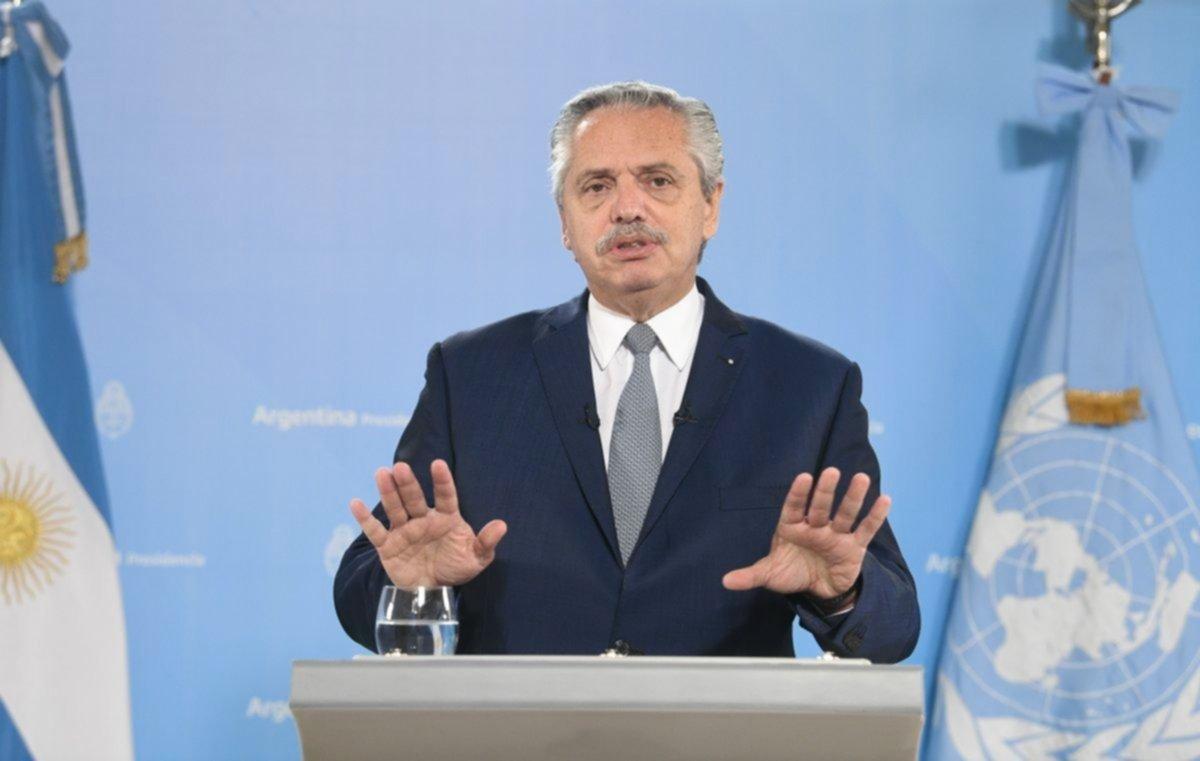 "Alberto Fernández calificó el préstamo del FMI a Macri como ""tóxico e irresponsable"""