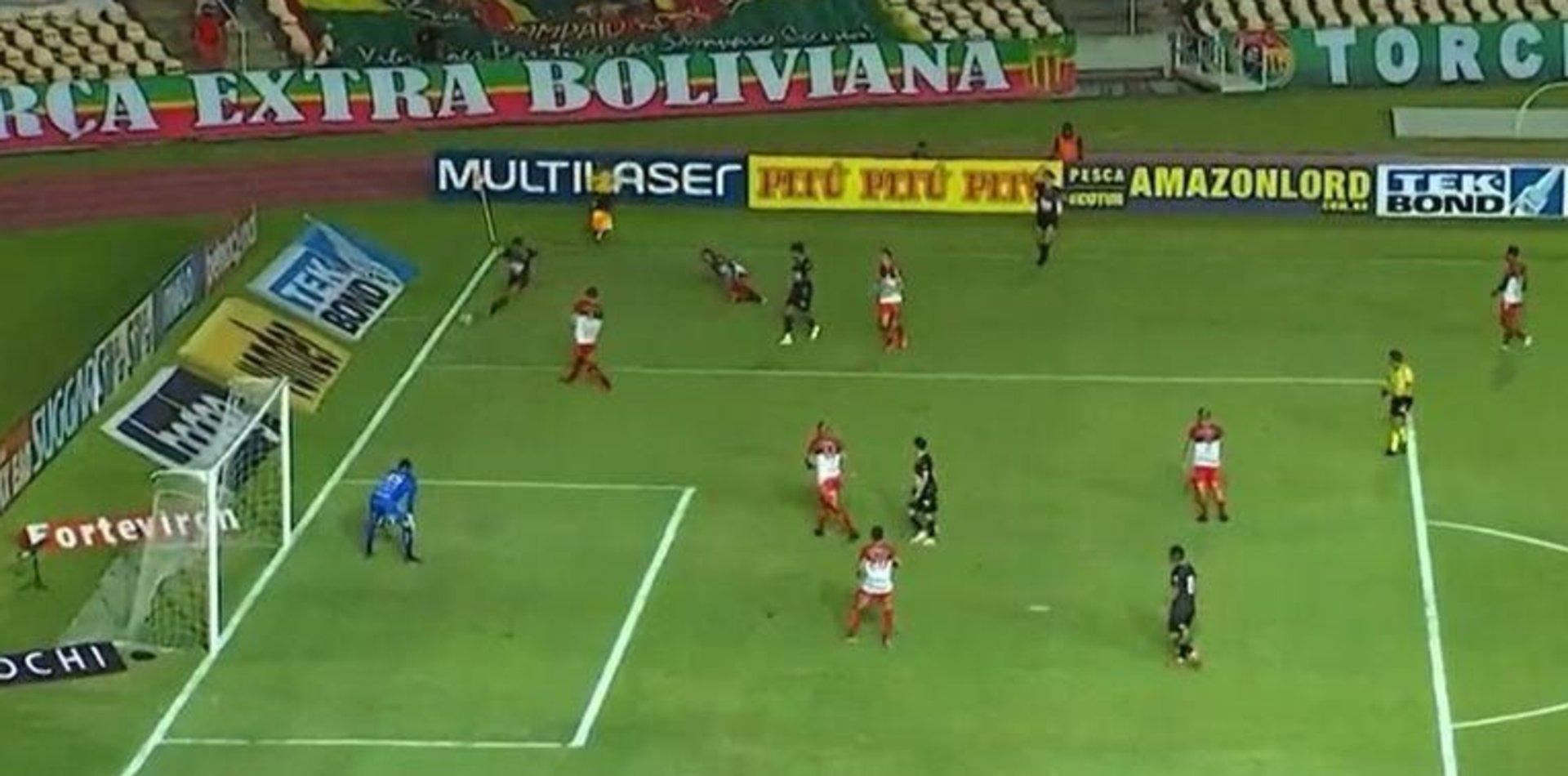 """Un delantero del ascenso de Brasil anotó un """"gol imposible"""" que ya es candidato al Puskas"""