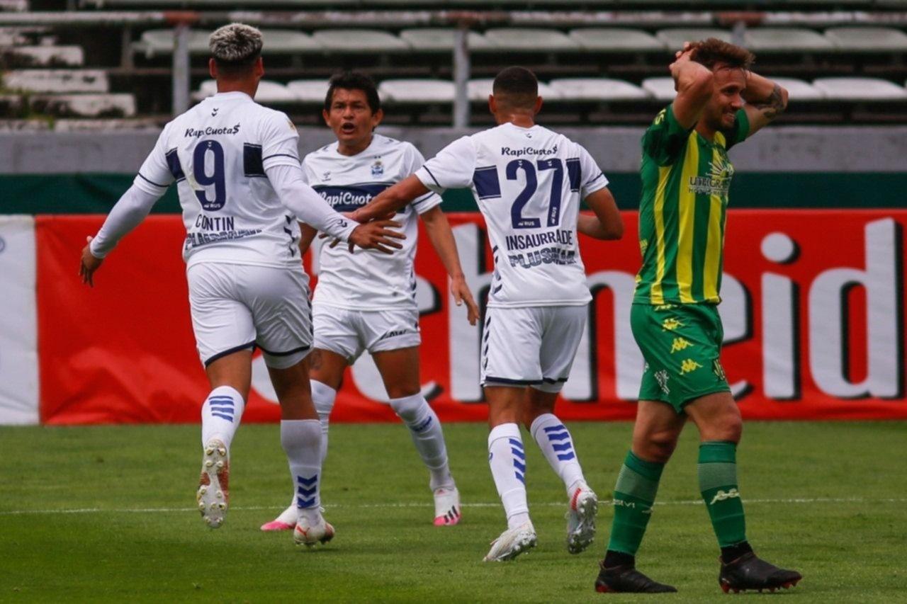 Gimnasia le ganó a Aldosivi y sumó dos victorias consecutivas