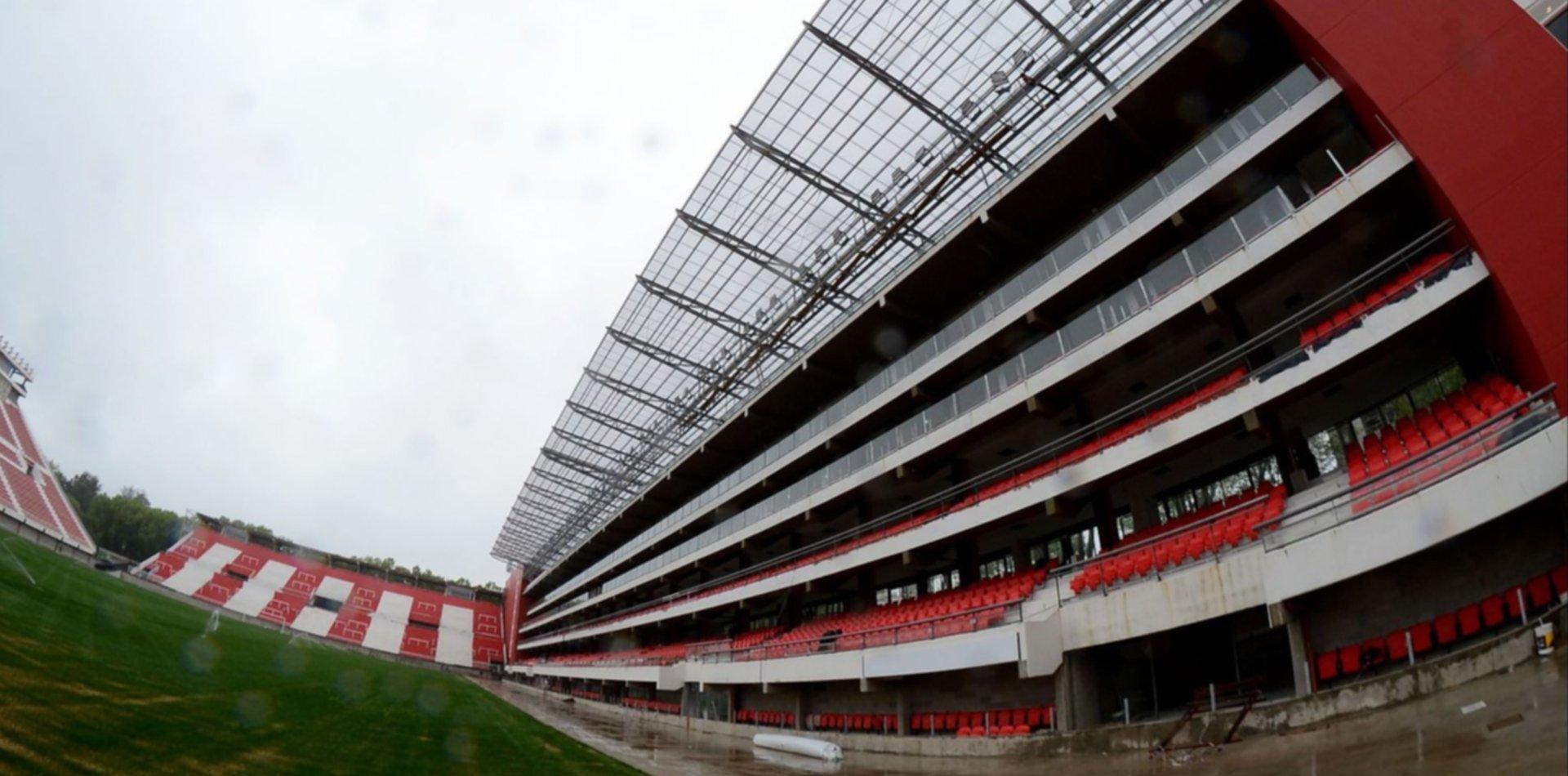 Así era la primera maqueta del estadio de Estudiantes hace casi dos décadas