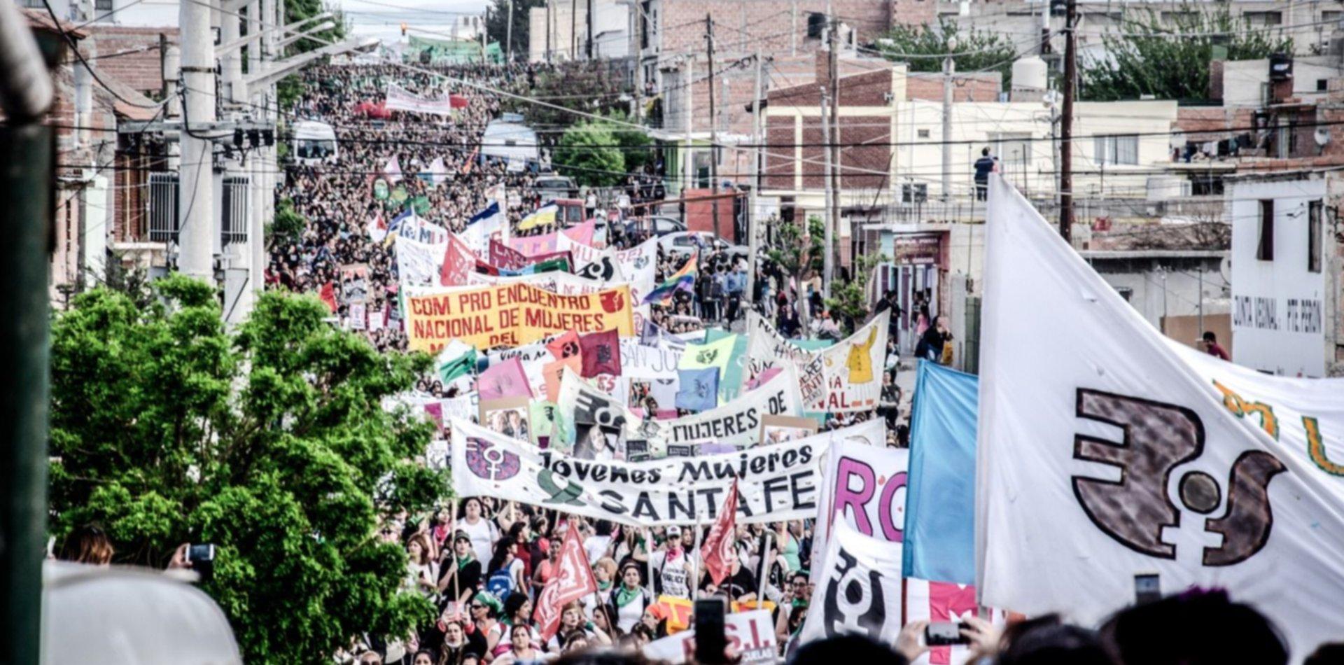 Así será el recorrido de la marcha del Encuentro Feminista en La Plata: no pasará por la Catedral
