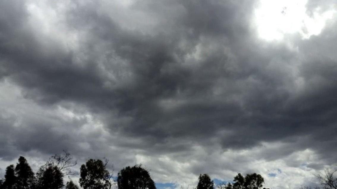 Cielo cubierto e inestable en la ciudad: ¿llegan las lluvias?