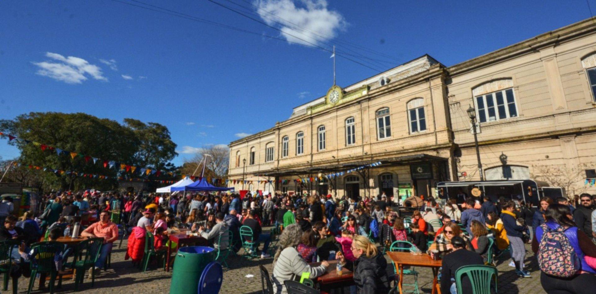 El domingo se celebrará una nueva fiesta de la cerveza en Meridiano V