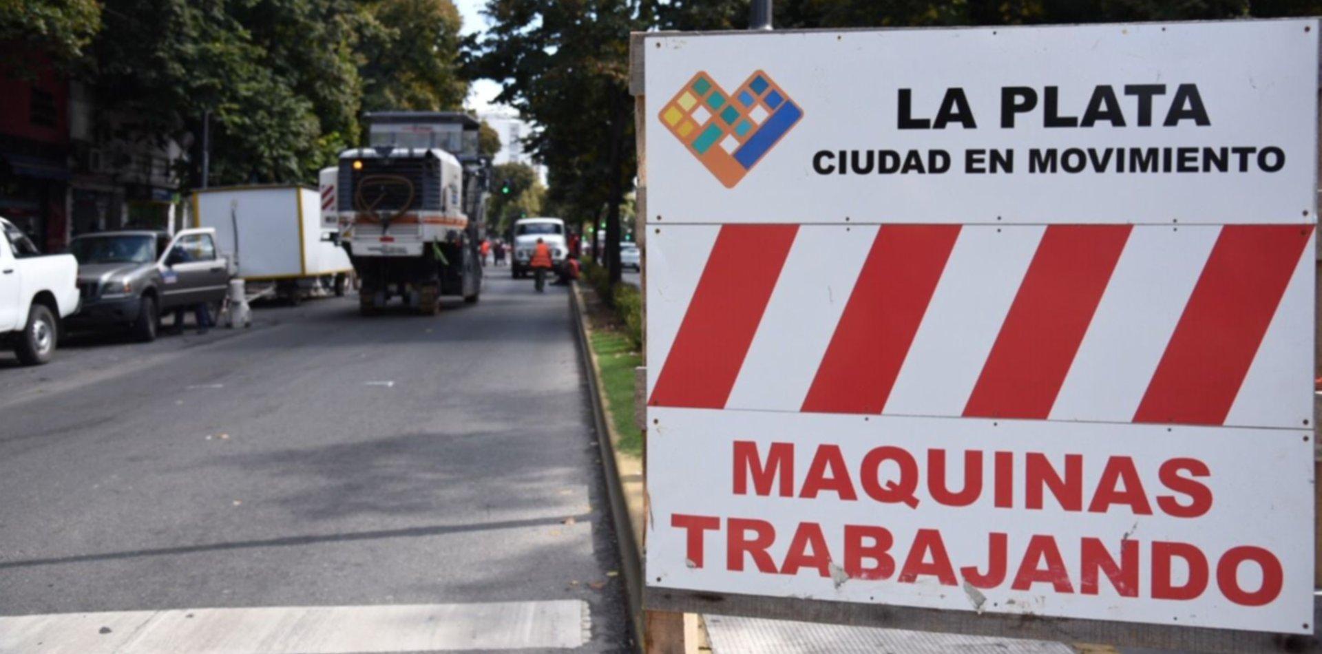 Anuncian cortes de tránsito en plena diagonal 74 por obras de repavimentación