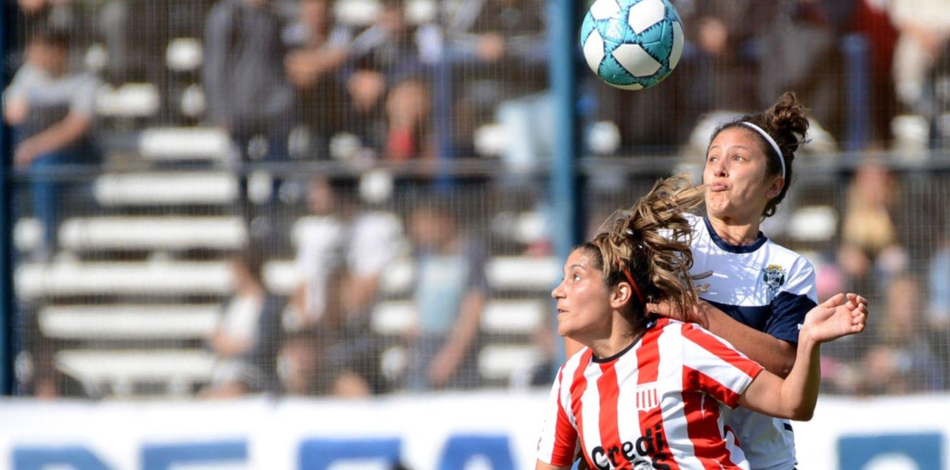 Gimnasia y Estudiantes: A puro gol, así se vivió el primer clásico femenino de la era profesional en La Plata