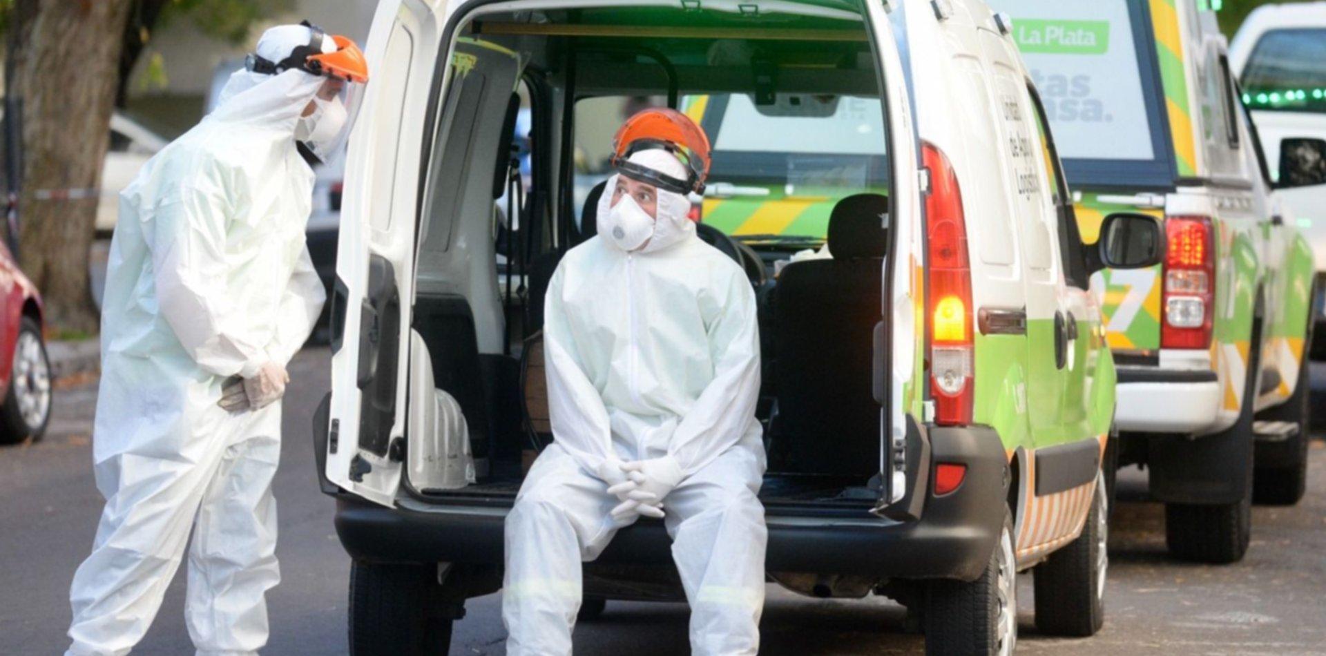 La Plata, Berisso y Ensenada, en el podio del riesgo epidemiológico a nivel nacional