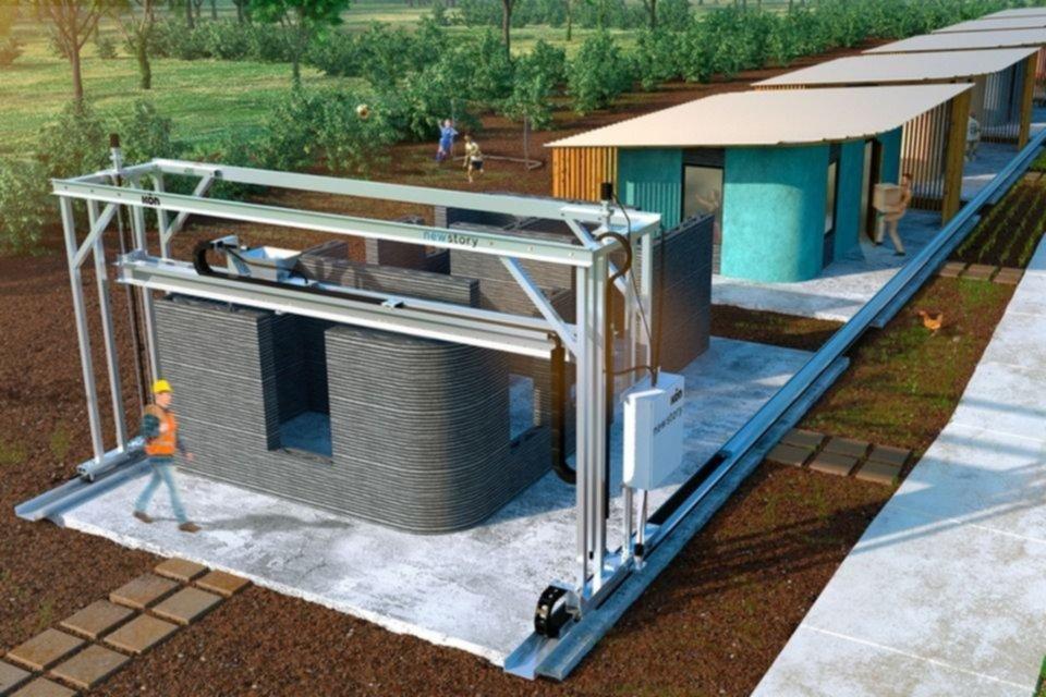 La UNLP y el Astillero crearán una mega impresora 3D para construir viviendas sociales
