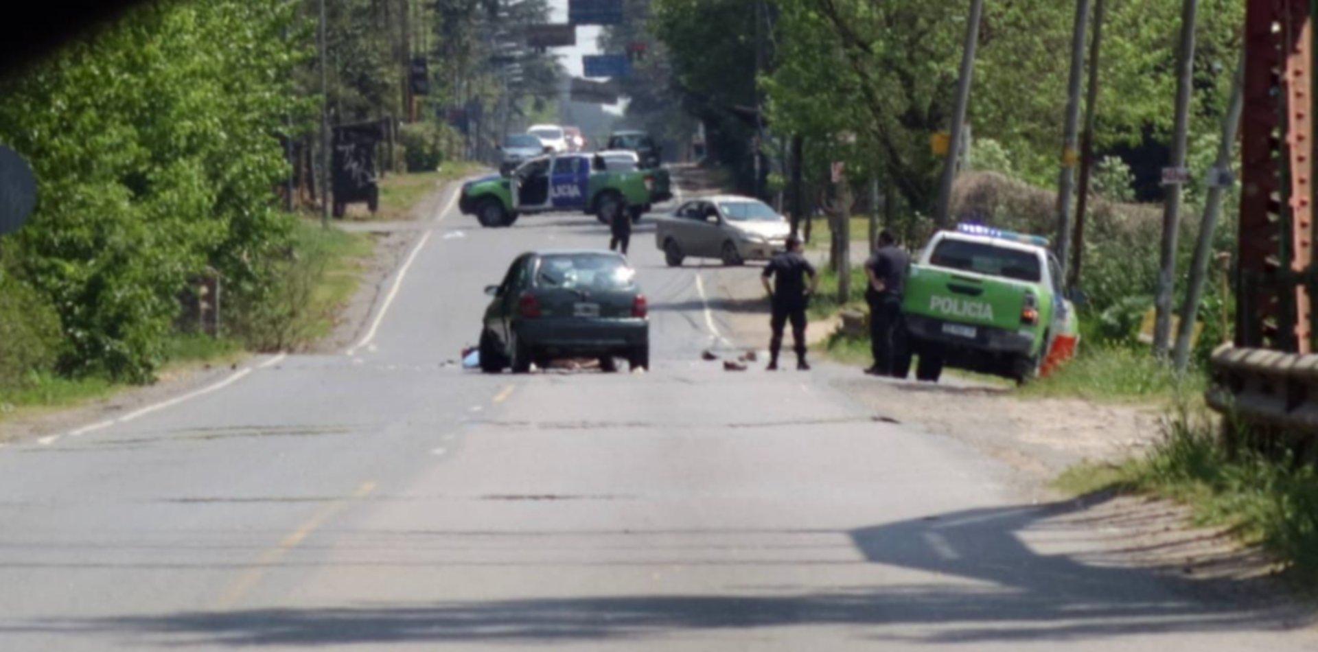 Accidente fatal en La Plata: murió un motociclista tras chocar con un auto
