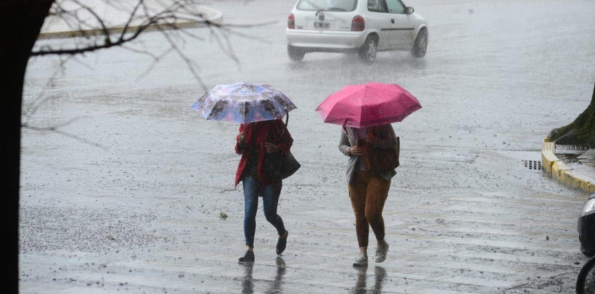 Barrio por barrio, revelan cuánto llovió hasta ahora en La Plata