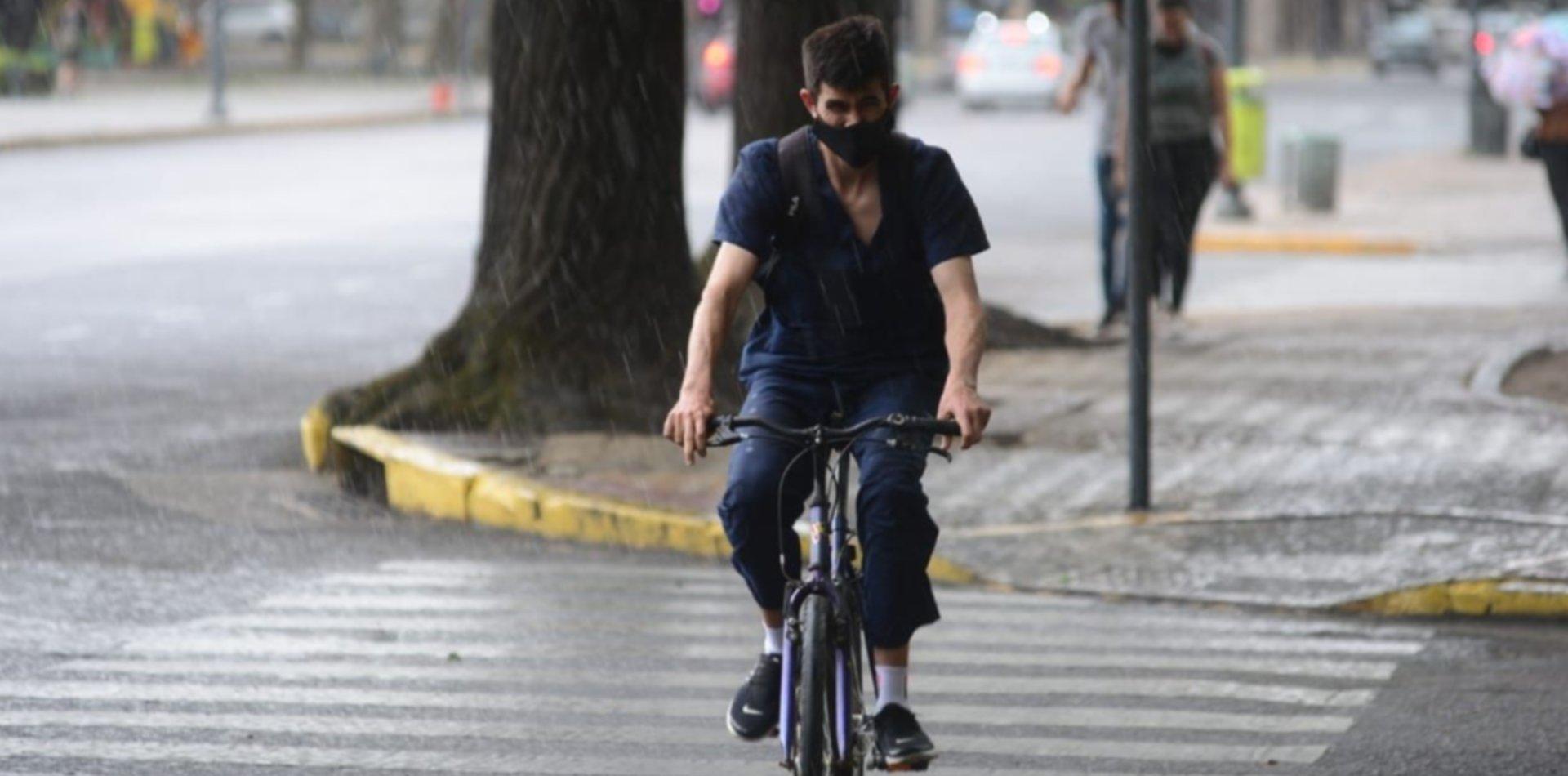 Se esperan más lluvias en La Plata y así va a estar el clima en el arranque de la semana