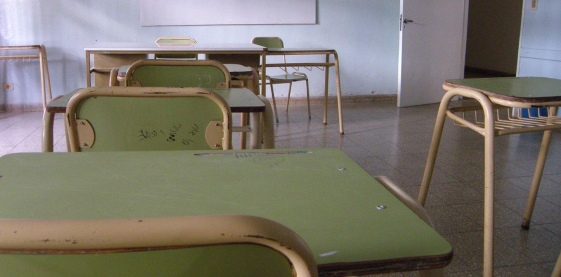 Un gremio docente exige la suspensión de las clases y ya anuncia un paro