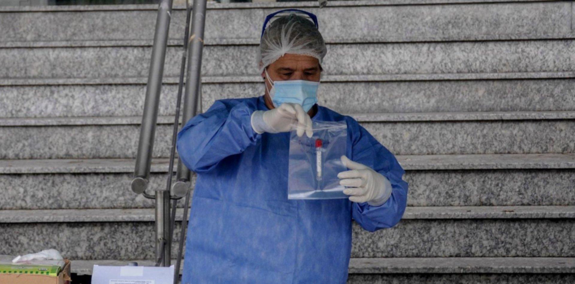 Confirman el contagio de 11.968 casos nuevos de coronavirus en Argentina