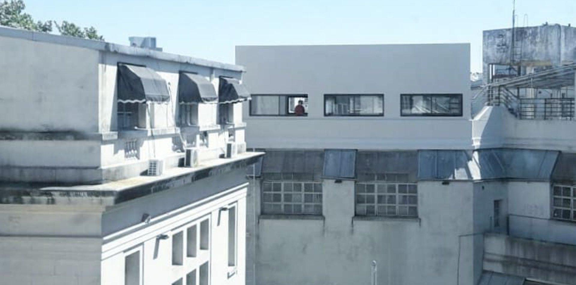Polémica en la Facultad de Artes por una nueva aula construida en una histórica terraza