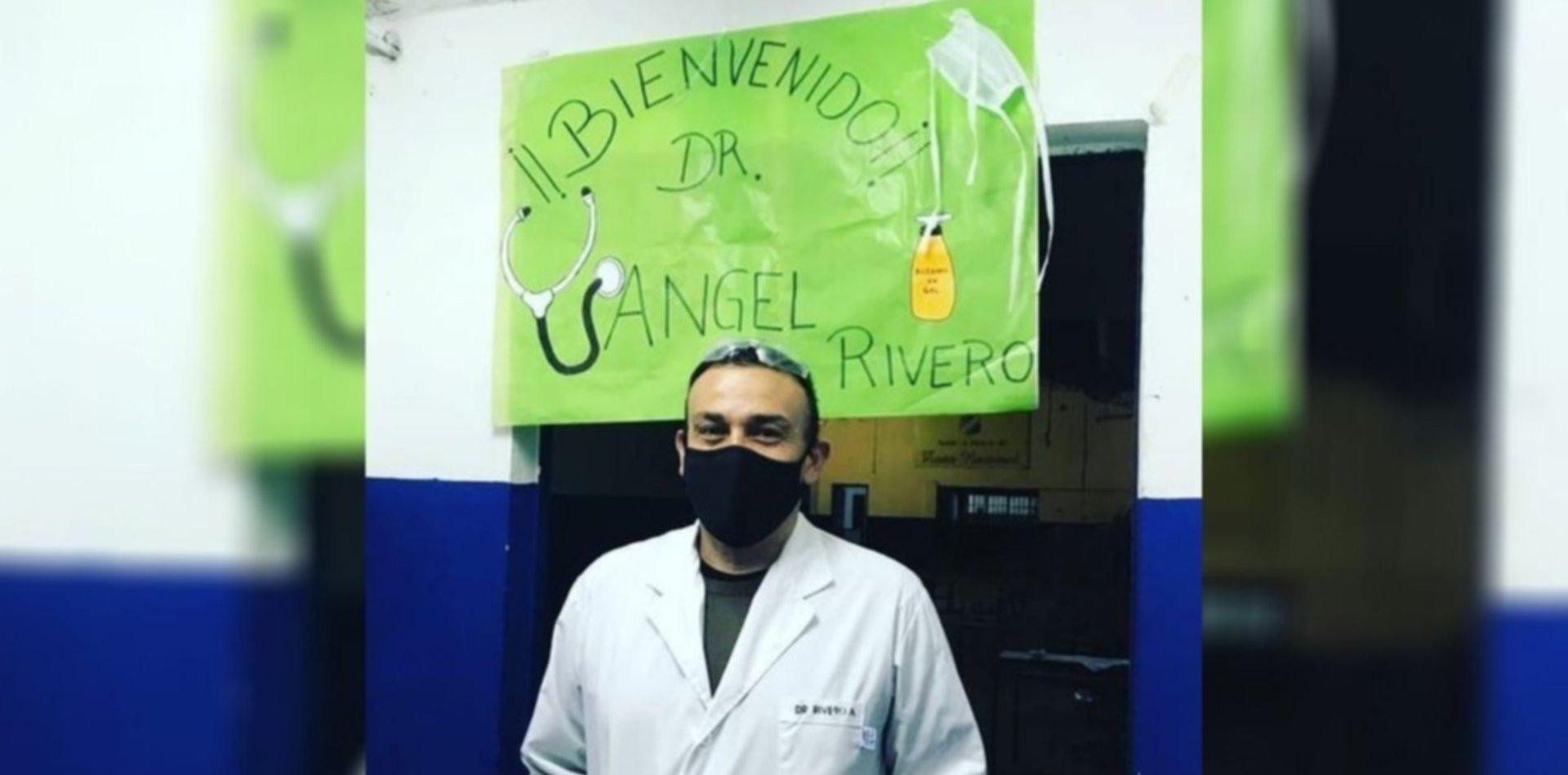 La emocionante bienvenida a un médico que se recuperó del coronavirus en Berisso