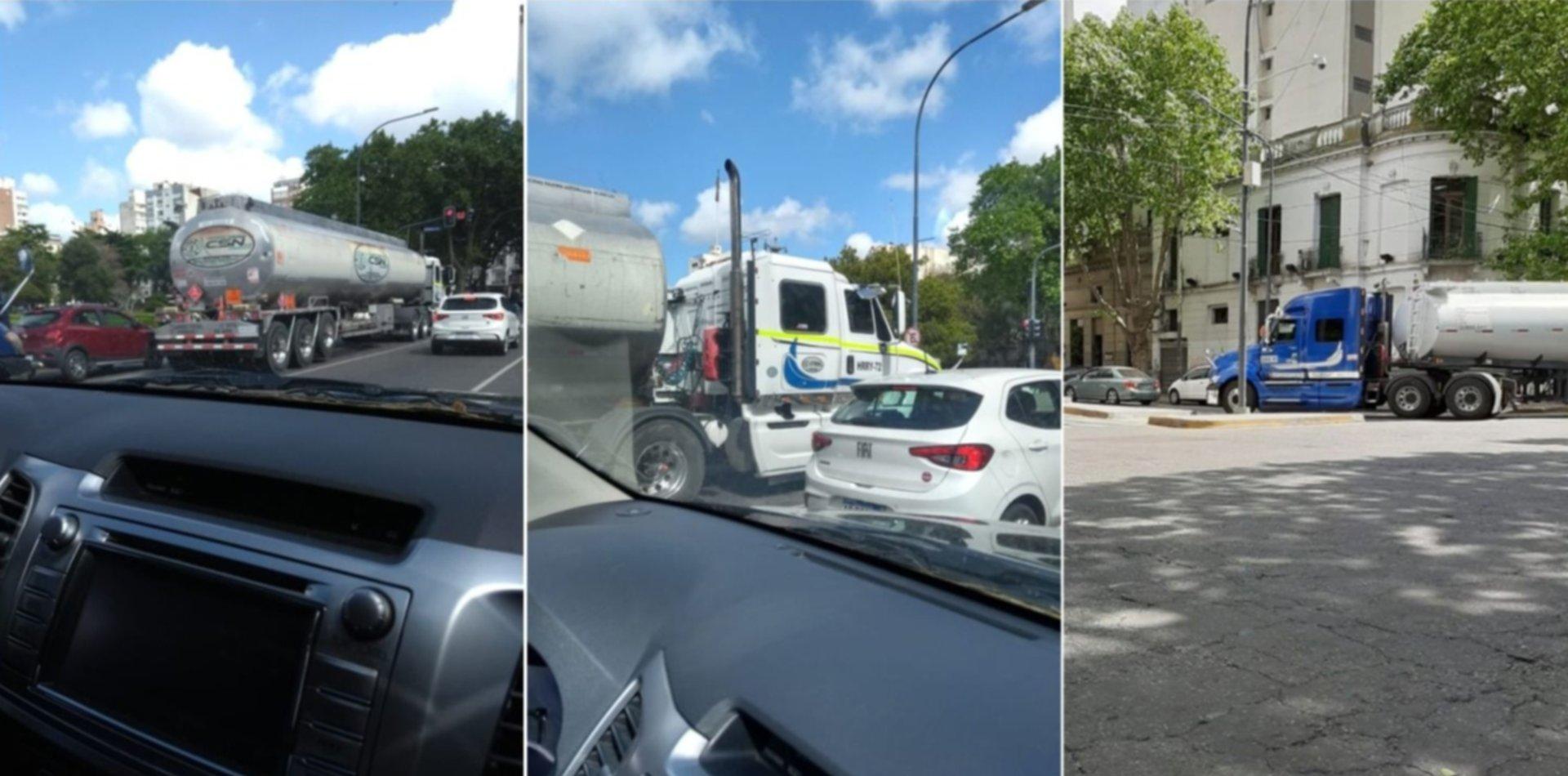 Crece el misterio por los camiones extranjeros en La Plata y aparecieron nuevos de Chile