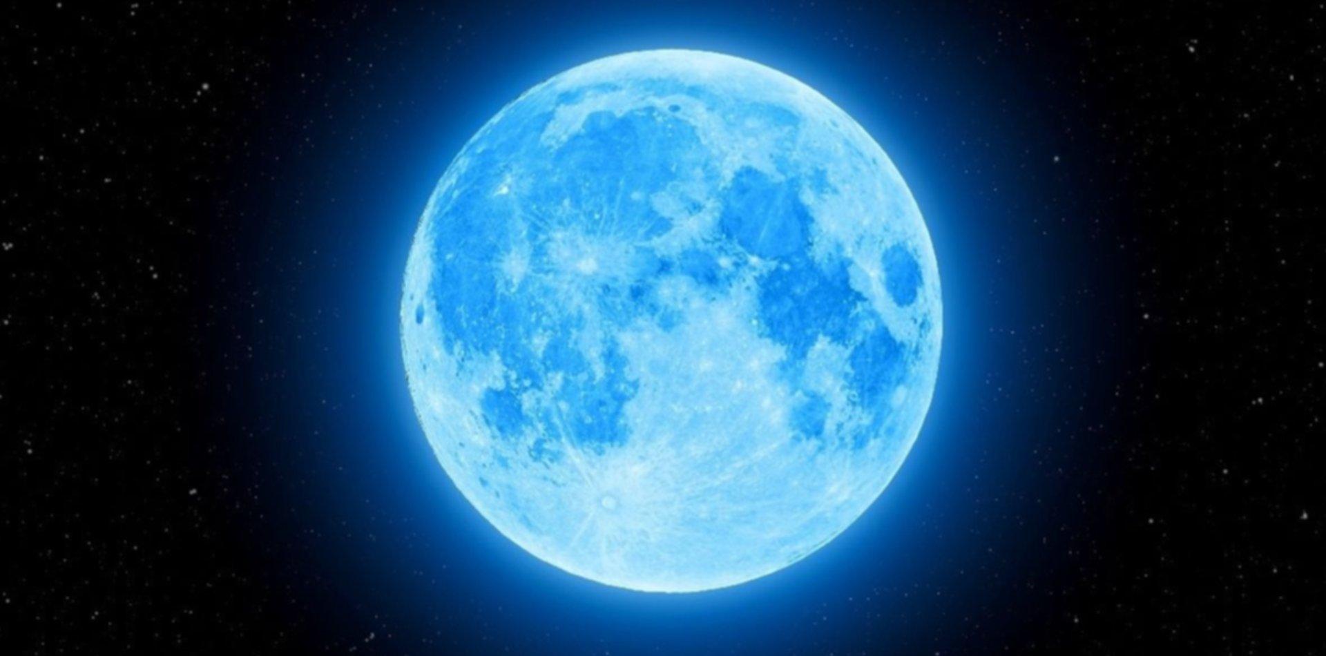 De qué se trata el fenómeno de la Luna azul que se verá en la noche de brujas