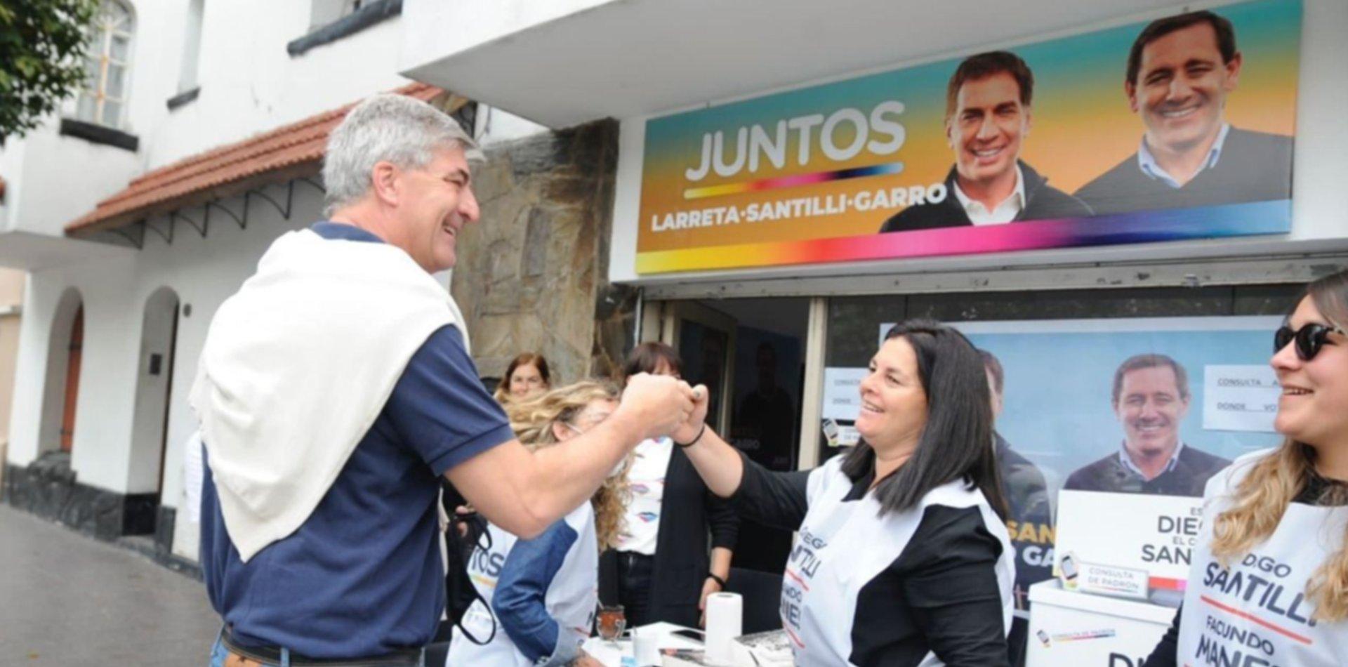 Con eje en la seguridad, los candidatos de Garro refuerzan la presencia en los barrios