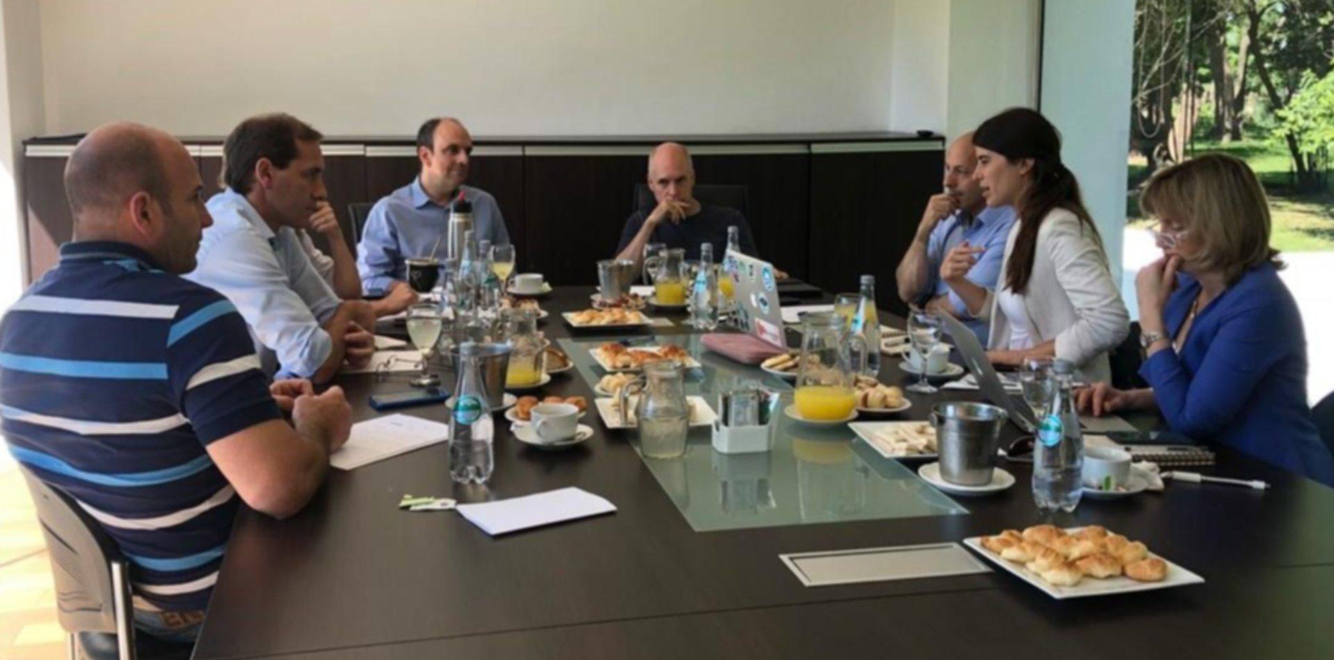 Intendentes de Cambiemos se reunieron para hablar de inversiones en grandes ciudades
