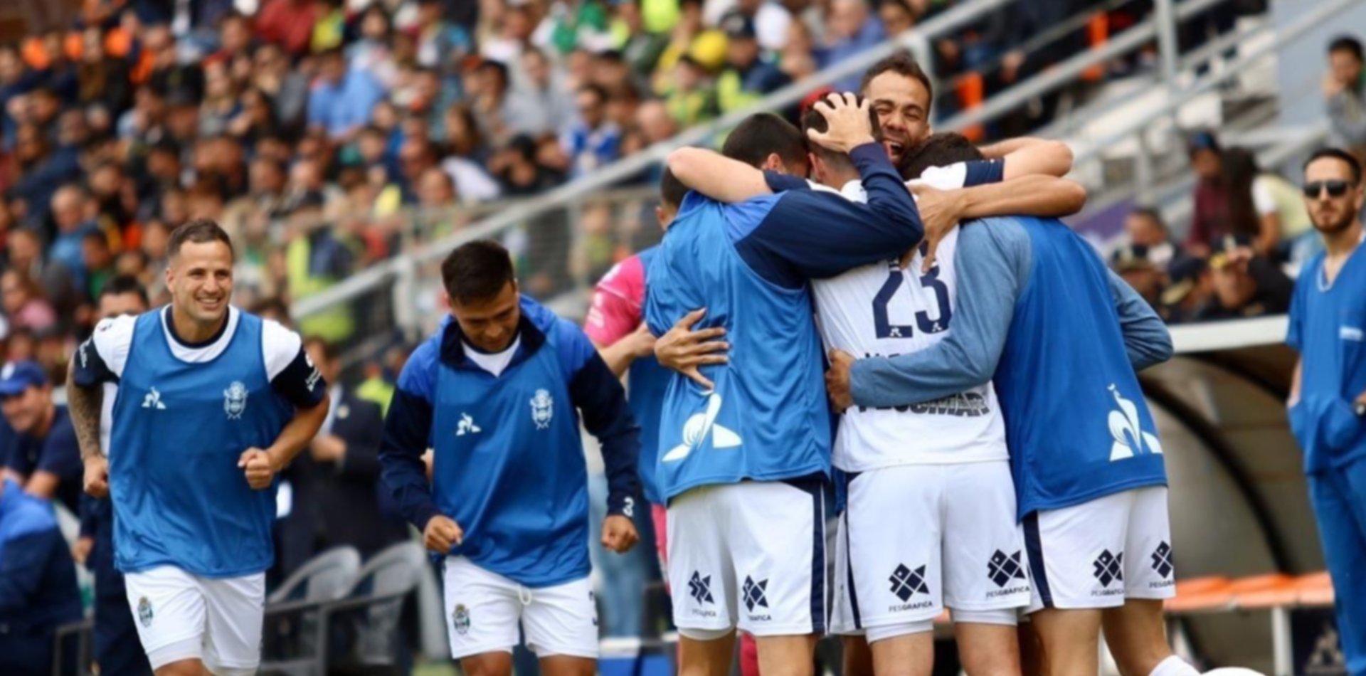 Gimnasia controla el partido y sigue ganando 2 a 0 en Mar del Plata
