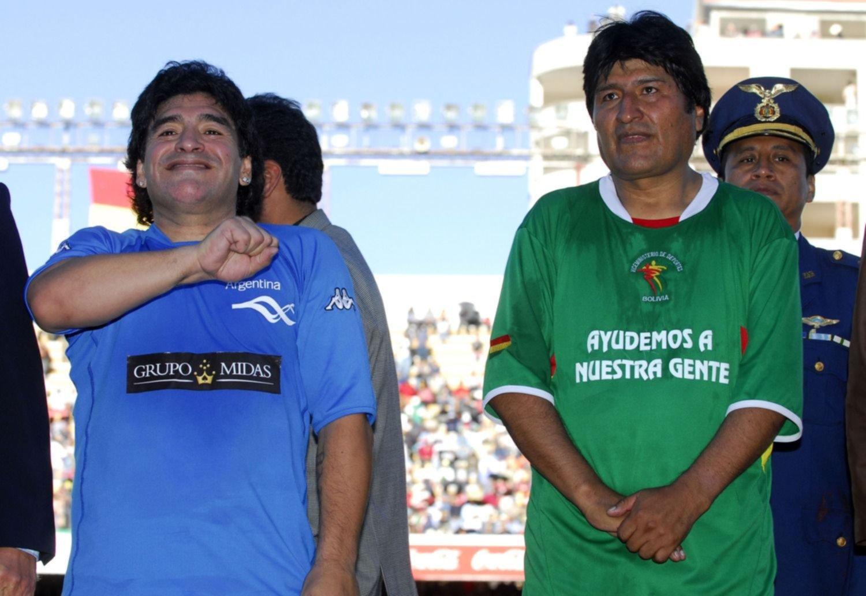 """Maradona habló de la situación de Bolivia y lamentó """"el golpe de estado orquestado"""""""