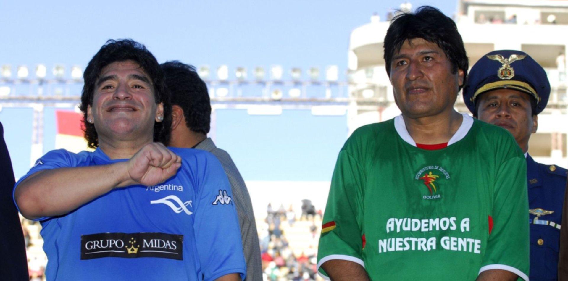 """Diego Maradona habló de la situación de Bolivia y lamentó """"el golpe de estado orquestado"""""""