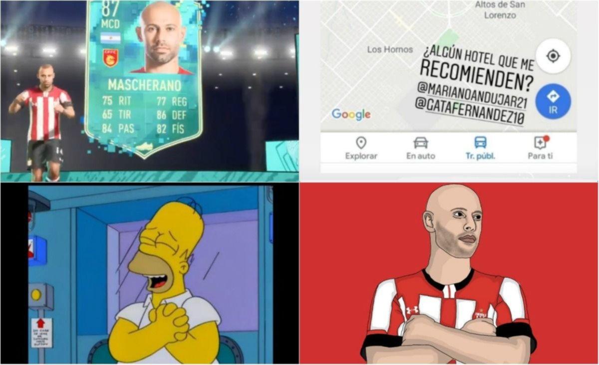 Los  memes por la llegada de Mascherano al Pincha