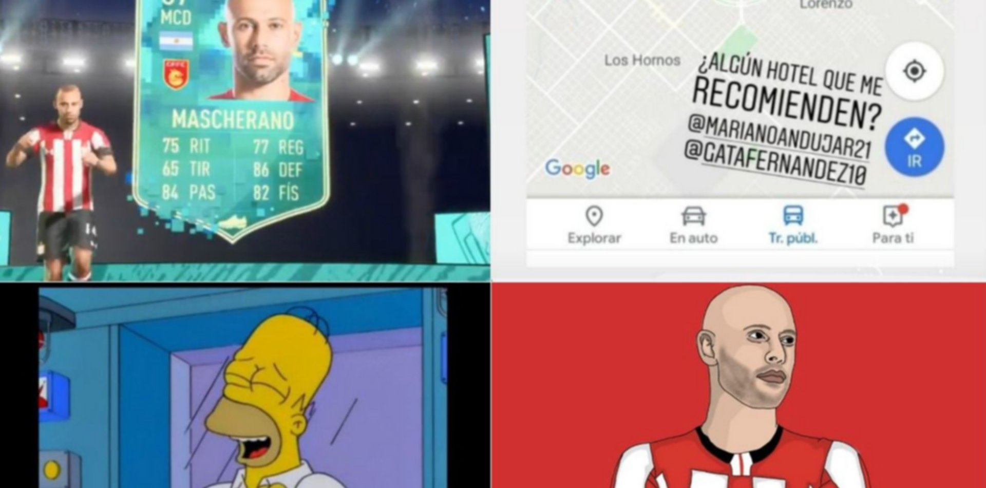 Los increíbles memes por la llegada de Mascherano a Estudiantes