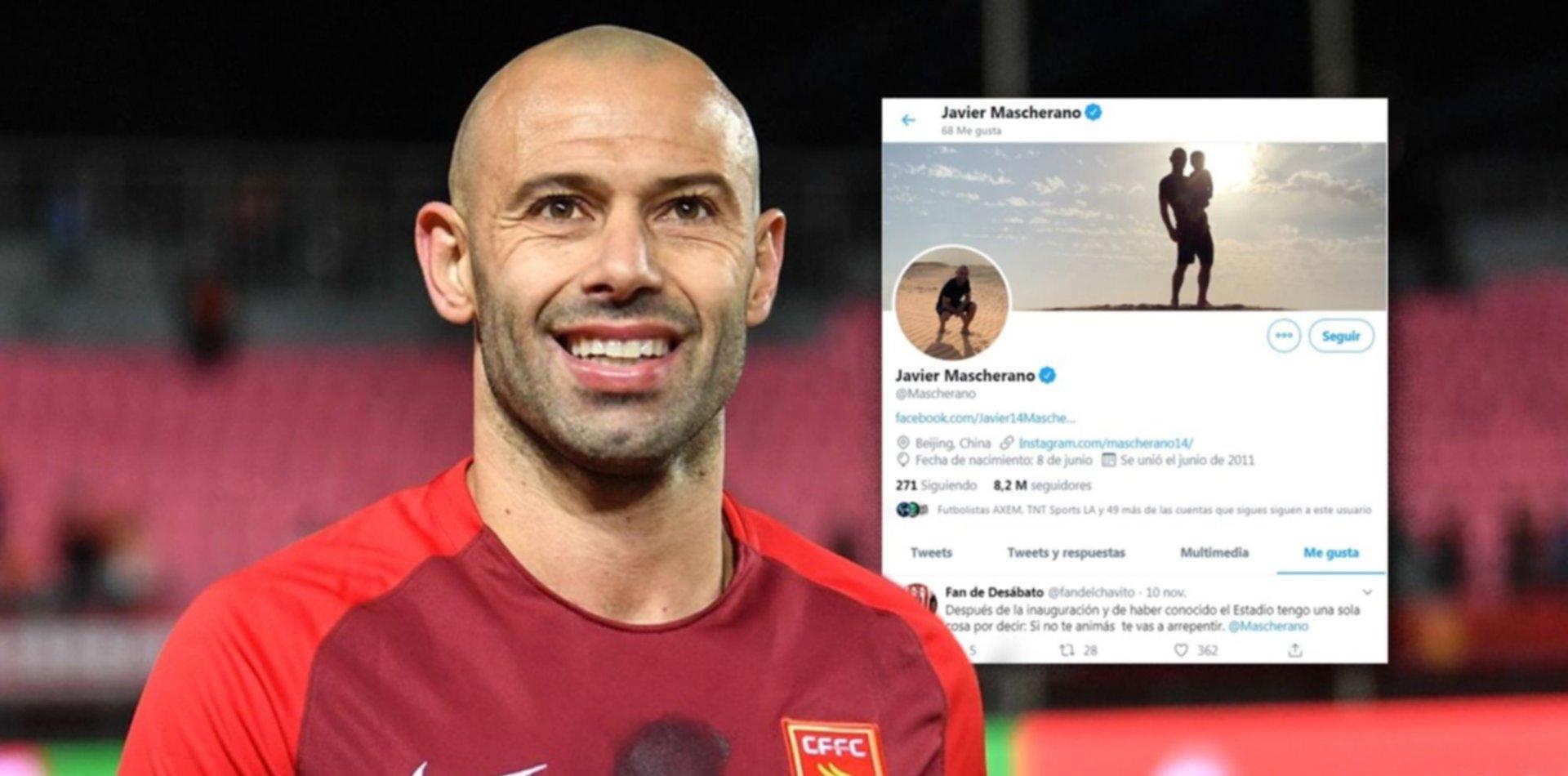 """""""Si no te animás, te vas a arrepentir"""": el tuit de Estudiantes que le gusta a Mascherano"""