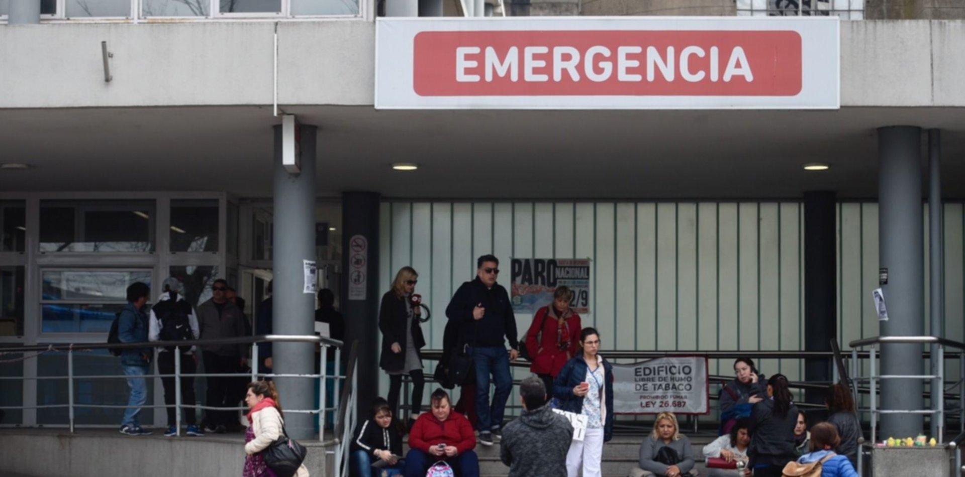 Un bebé fue abusado y está en grave estado en el Hospital de Niños