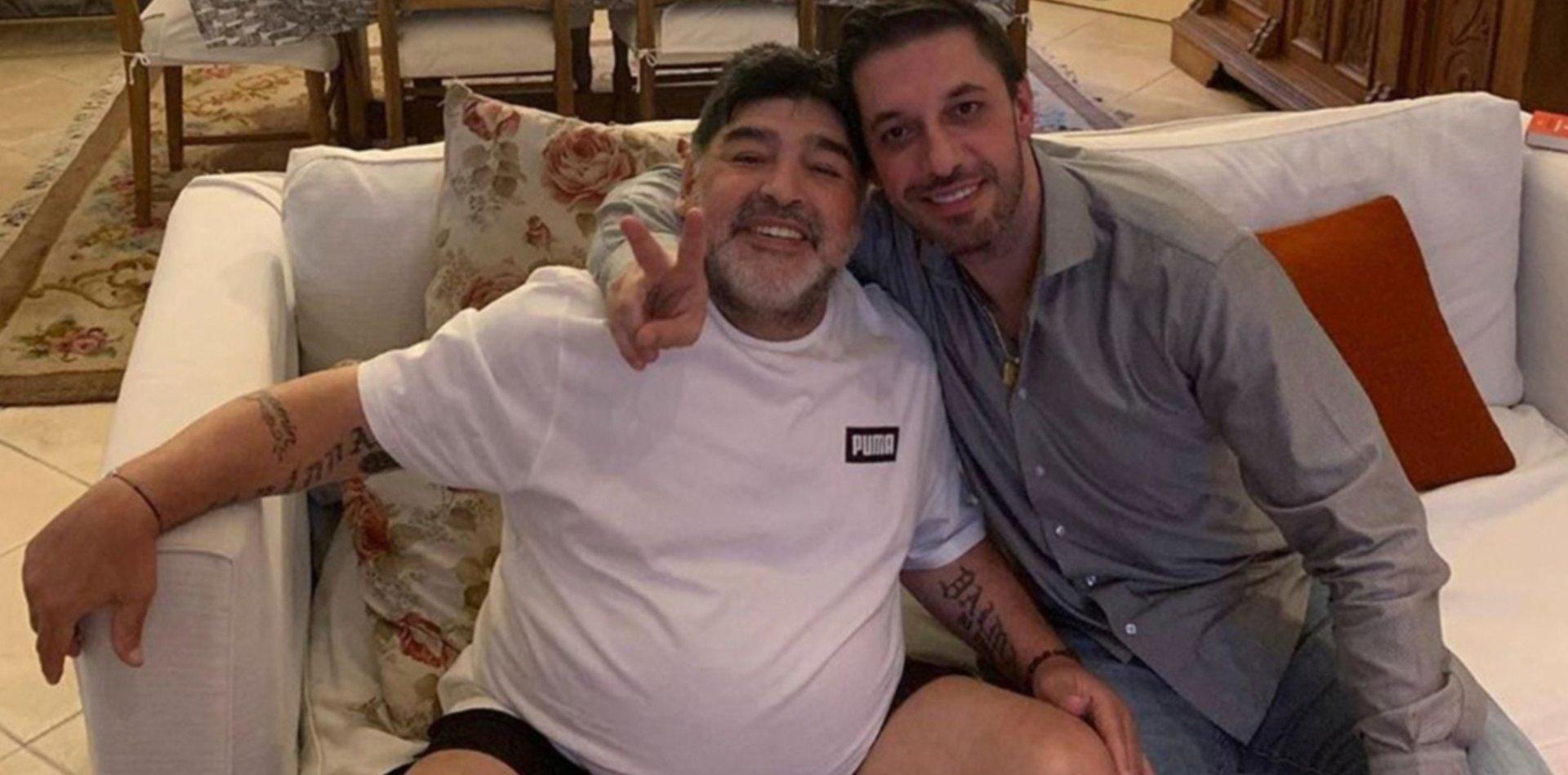 """El duro audio de Morla a Gianinna Maradona: """"Plantealo en Tribunales y con gusto iré"""""""
