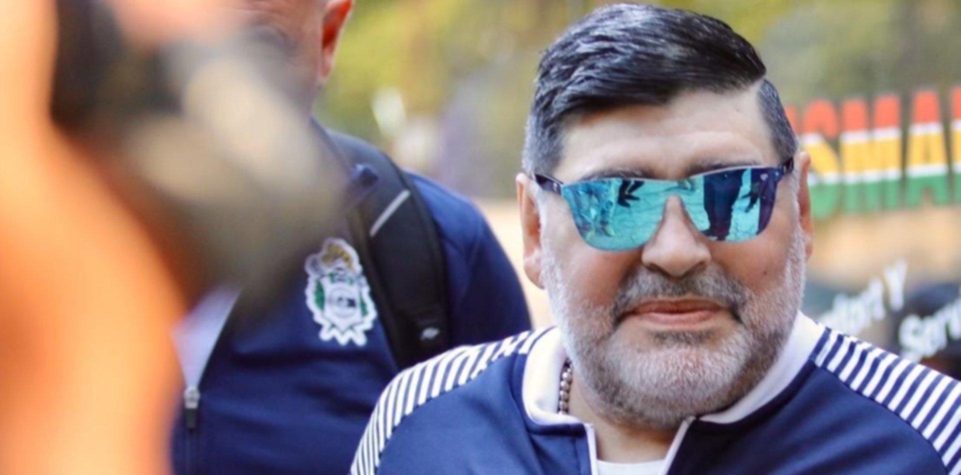 """Diego Maradona demandará a Netflix por la película """"Ha sido la mano de Dios"""""""