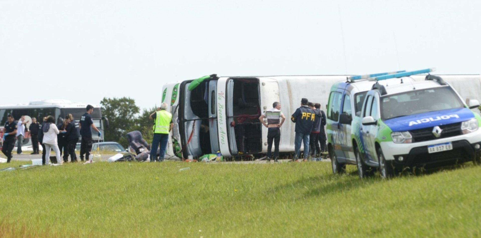 Cuatro días después, Vidal declaró tres días de duelo por el trágico vuelco en Ruta 2