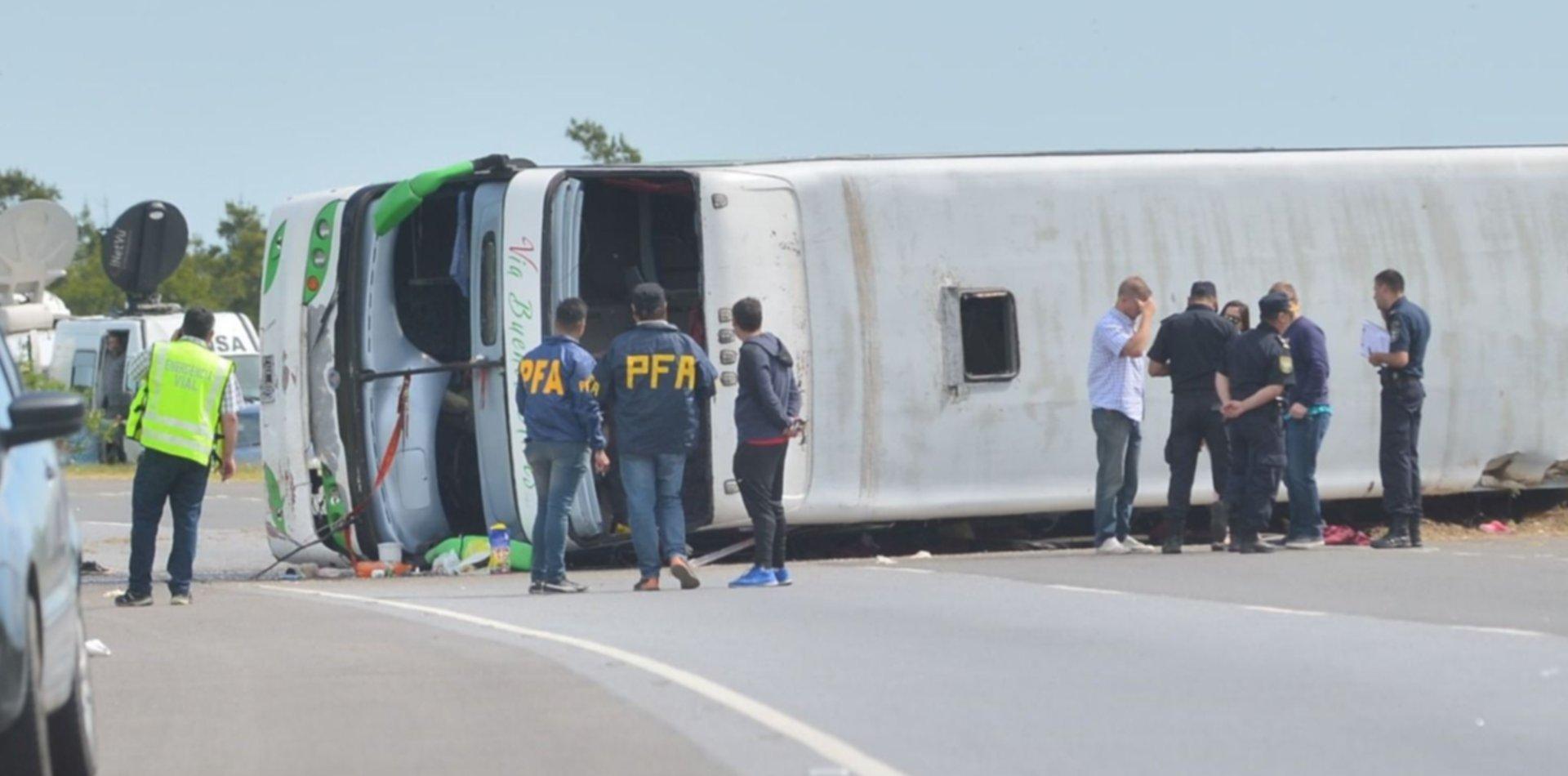 El chofer de la tragedia en la Ruta 2 podría quedar en libertad en los próximos días