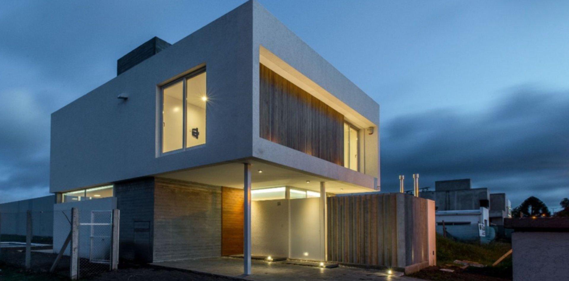 Una casa compacta