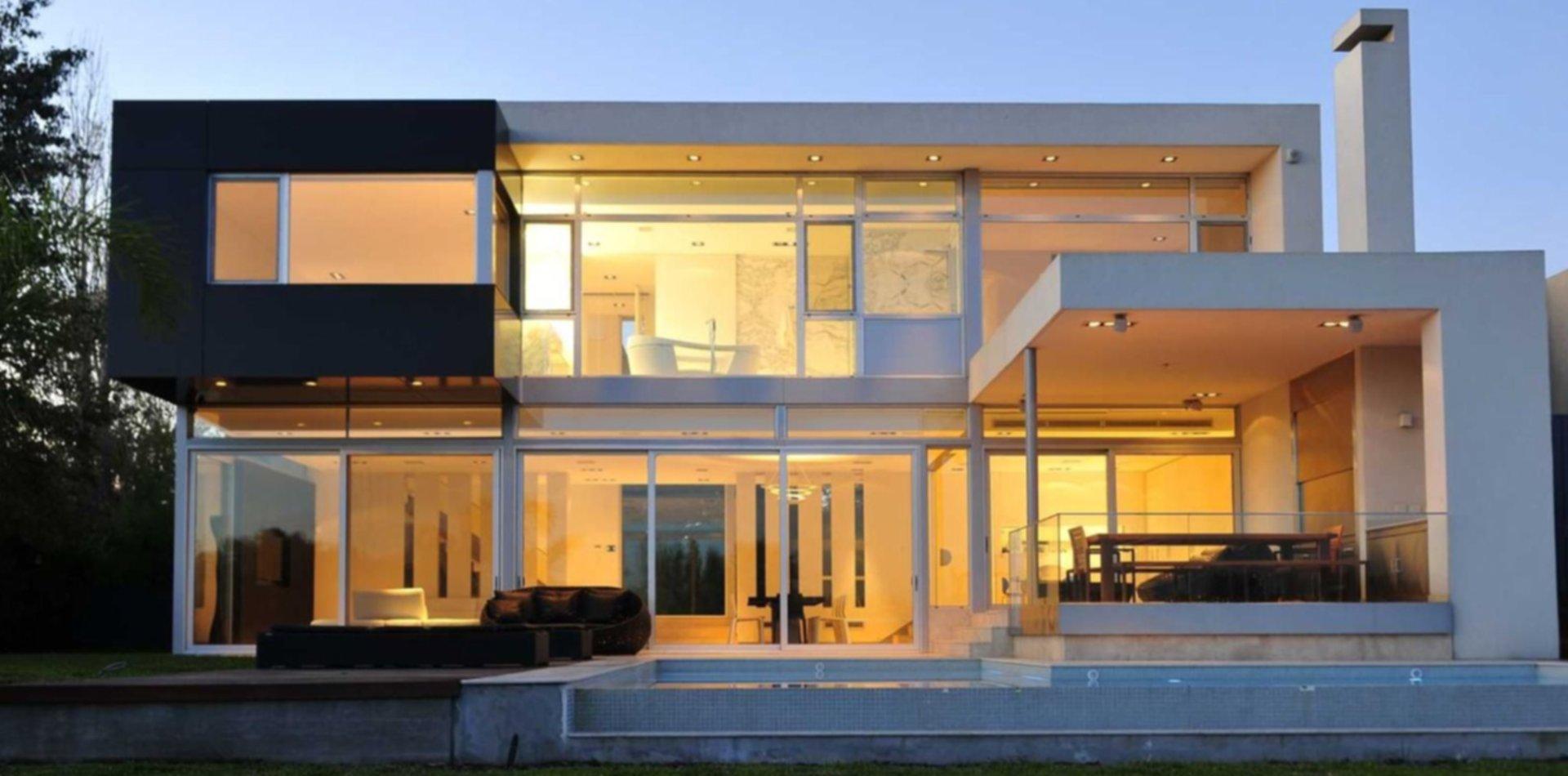 Una casa transparente