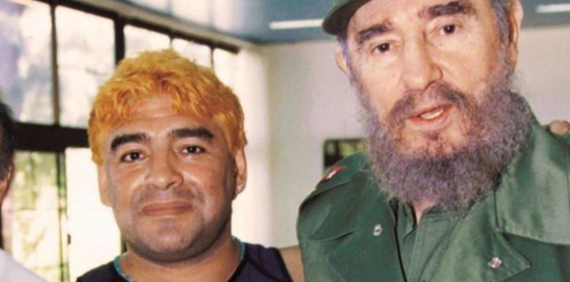 El hijo de Fidel Castro le ofrecióa Maradona estadía en Cuba para su recuperación