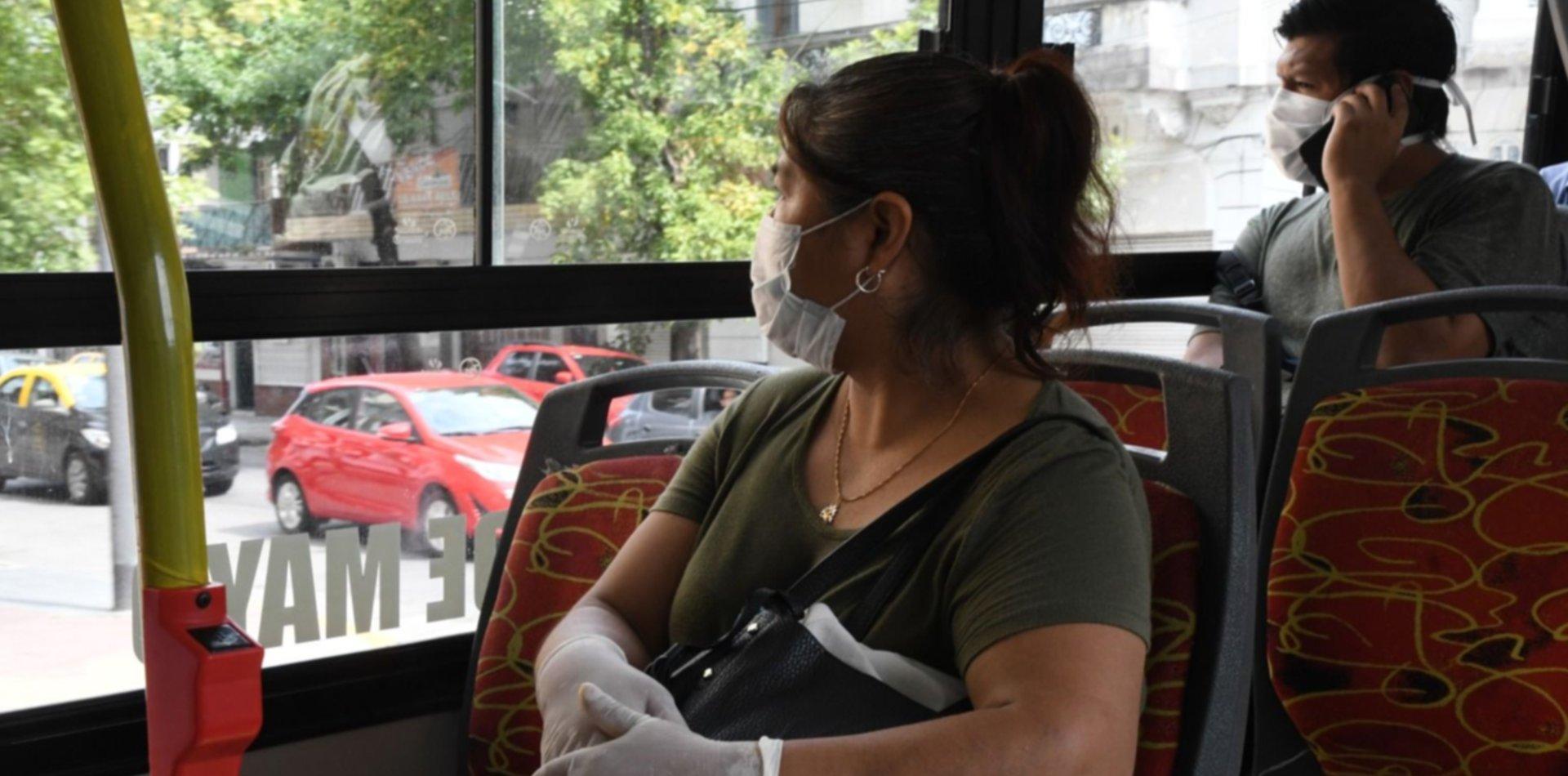 ¿Quiénes no podrán usar el transporte público desde mañana en La Plata?