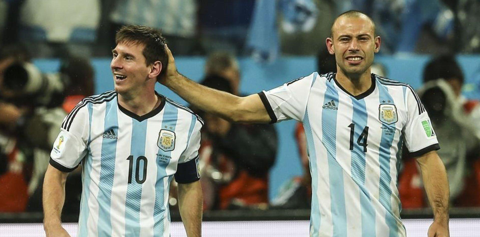 """El mensaje de Messi para su amigo Mascherano: """"Te venimos extrañando desde que te fuiste"""""""