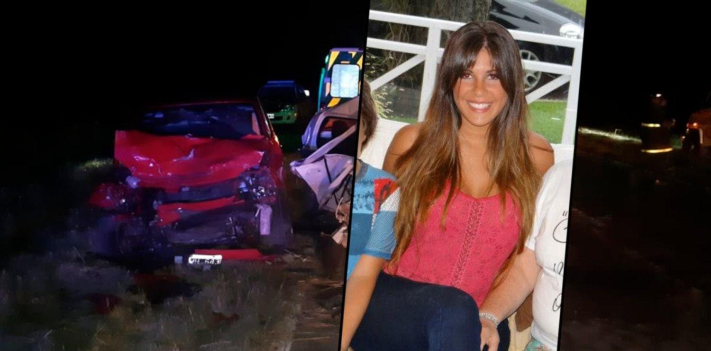 Una de las chicas de La Plata perdió a su bebé en el trágico choque de la Ruta 56