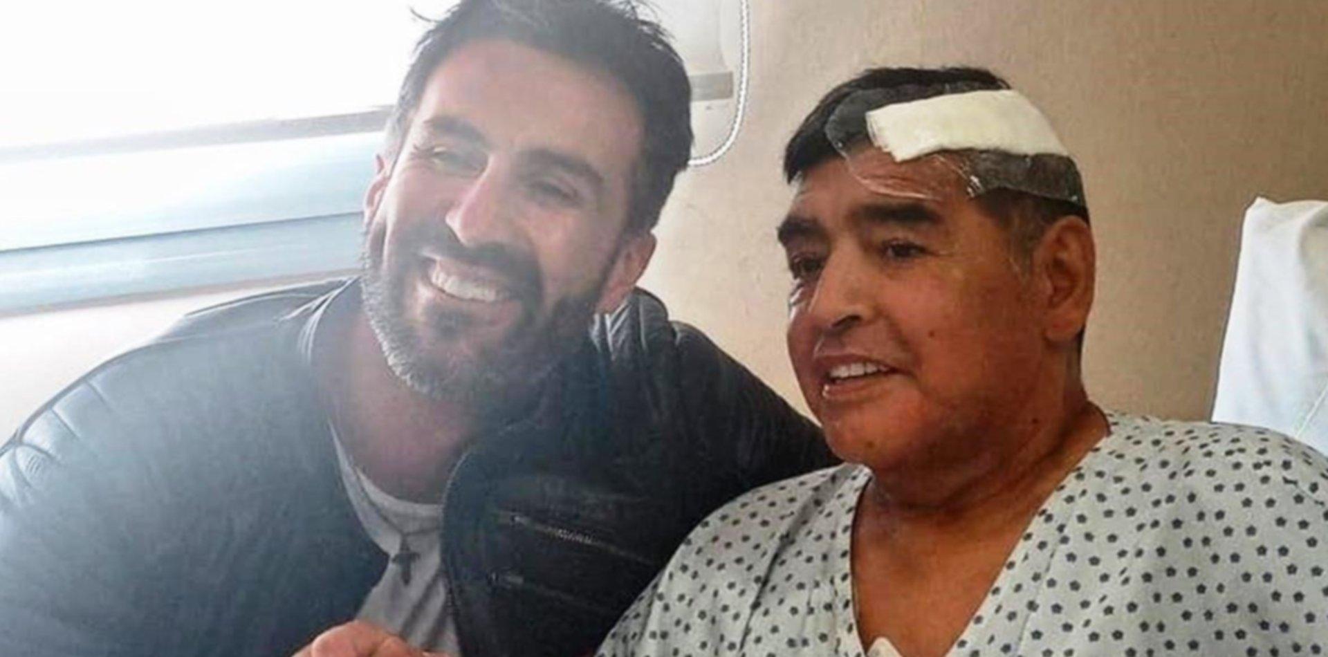 """""""Soy el encargado de la salud física y mental de Maradona"""": la carta que complica a Luque"""
