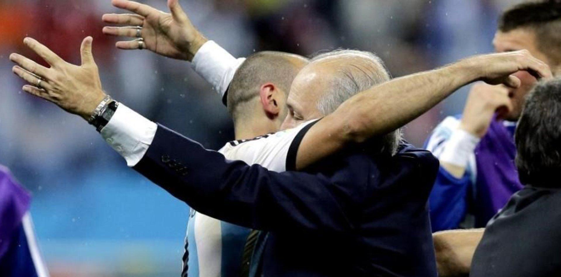 """El mensaje de Mascherano a Sabella: """"No me aflojes"""""""
