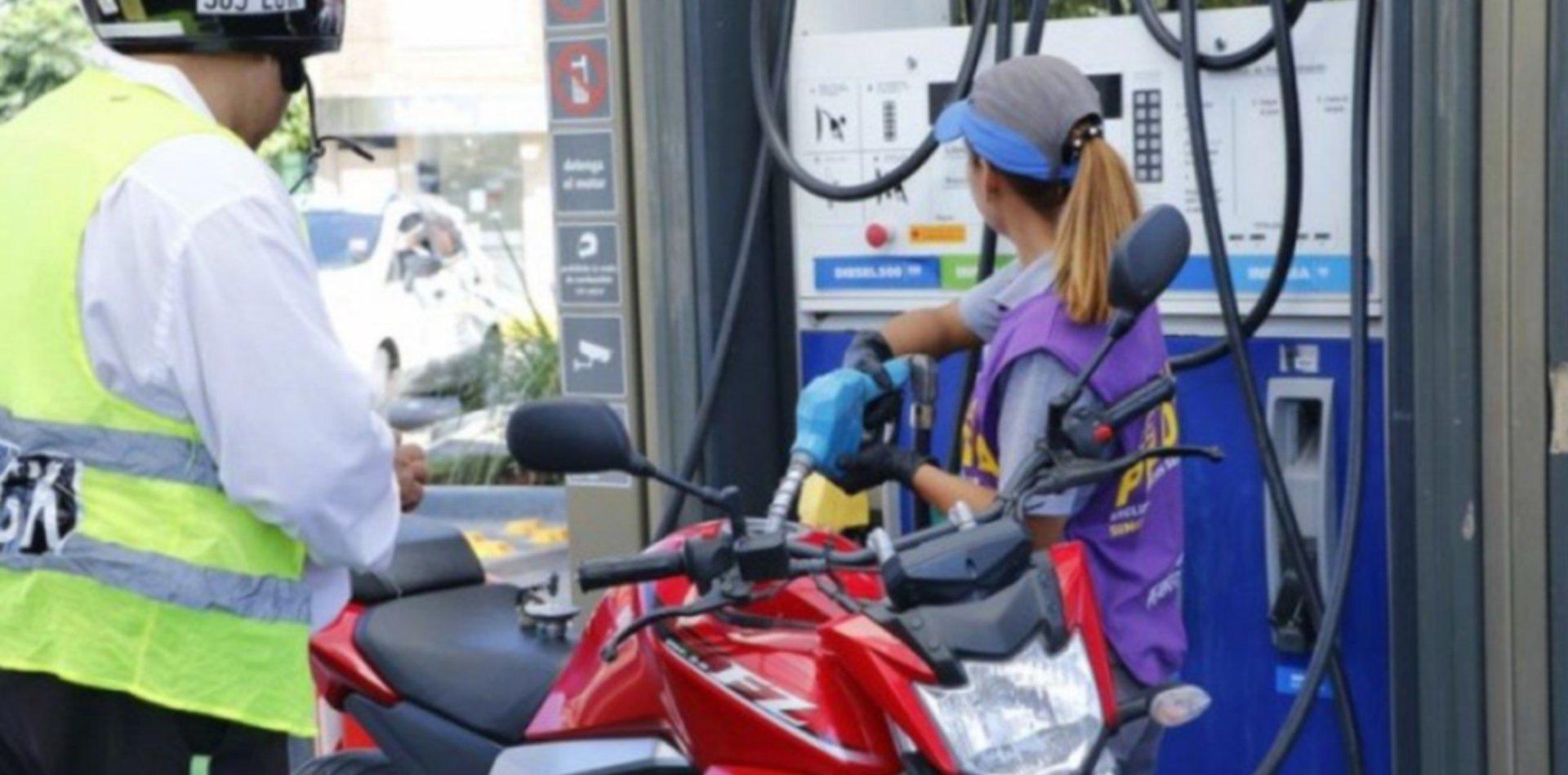Las motos no podrán cargar nafta en La Plata sin una oblea de seguridad