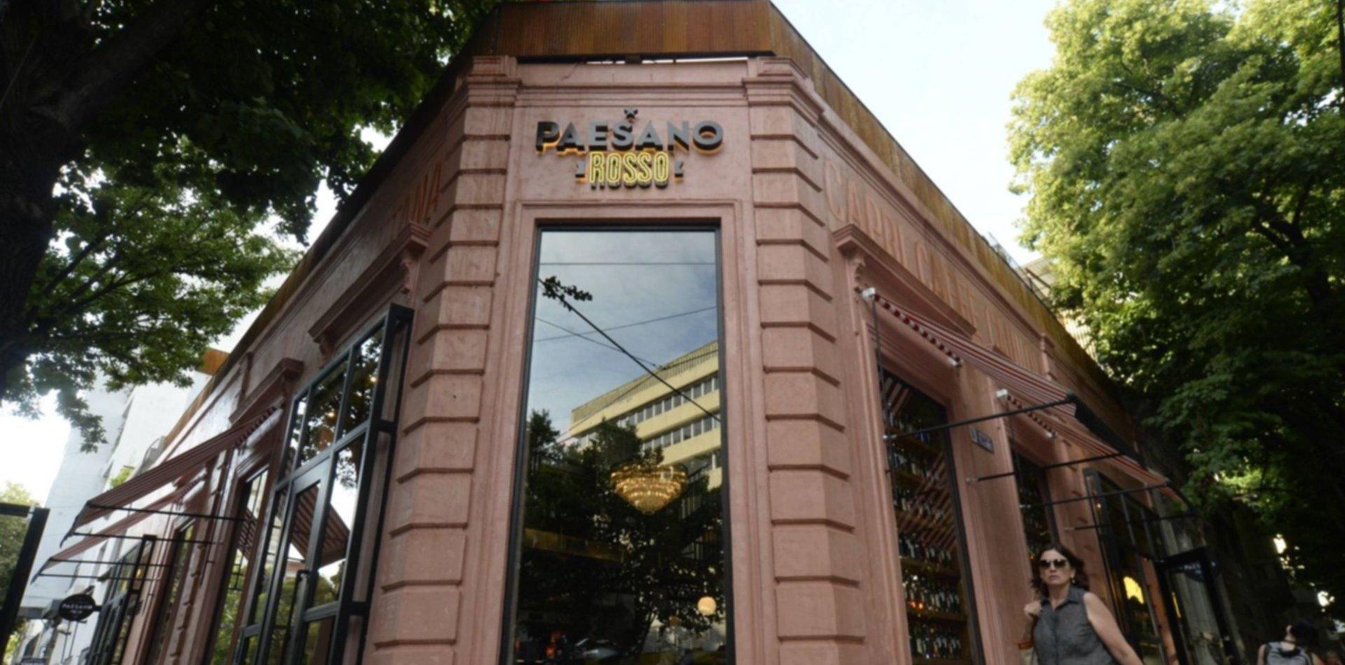 Pizza, pasta y coctelería, así fue la apertura de Paessano Rosso en La Plata