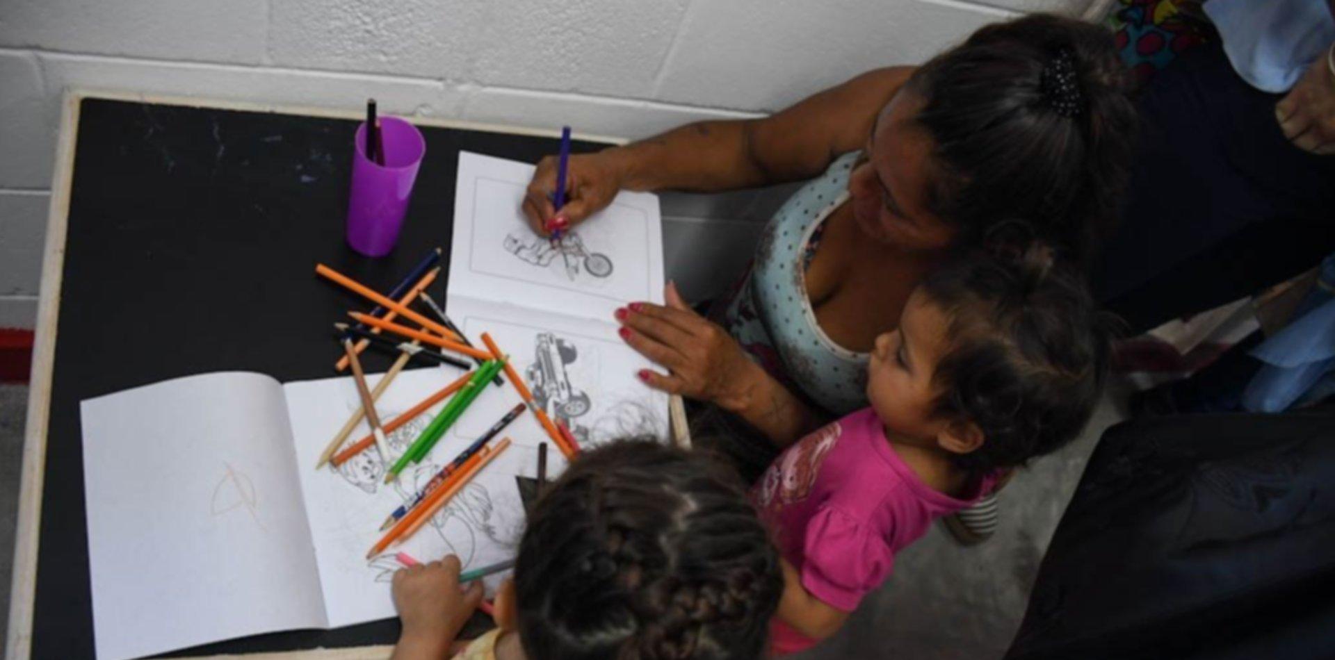Abrirán un espacio recreativo para nenes que viven con sus mamás en una cárcel de La Plata
