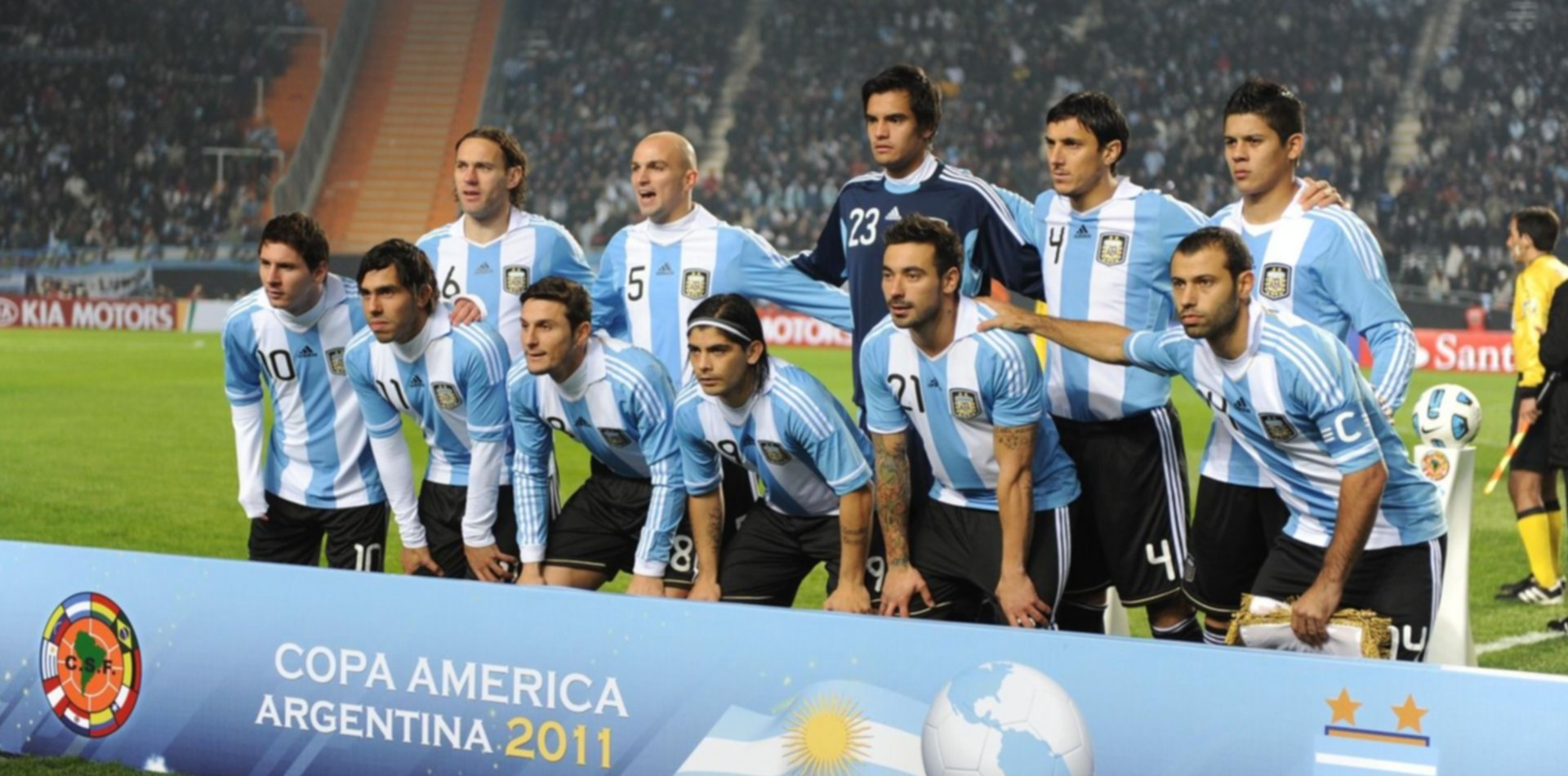 La Copa América vuelve a La Plata: el recuerdo de la Selección argentina de Messi, Mascherano y Tévez