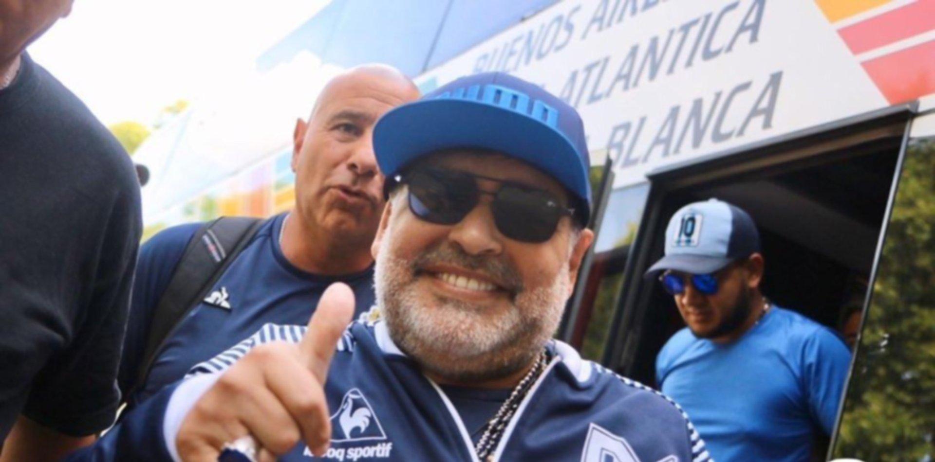 El emotivo mensaje de Diego Maradona para Alberto y Cristina