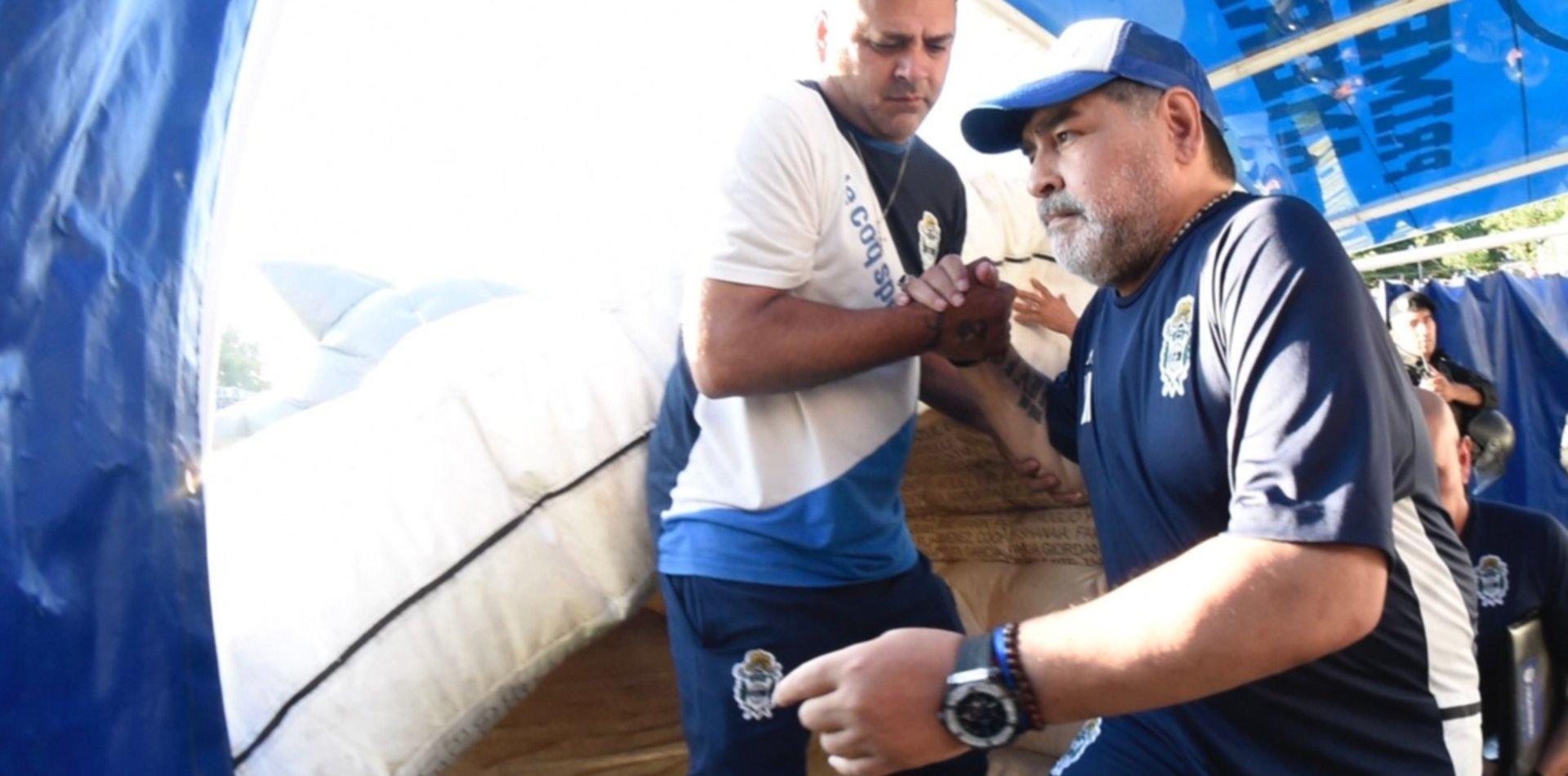 Gimnasia debuta ante Patronato el mismo día que el cumpleaños de Maradona